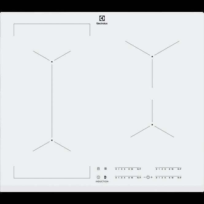 Paigaldatud induktsioonpliit Electrolux EIV6..