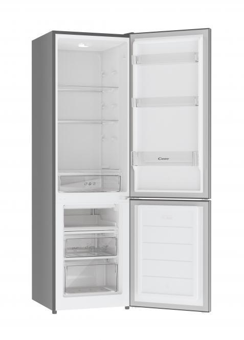 181cm roostevabast terasest külmkapp sügavkülmaga Candy CHICS 5184XN