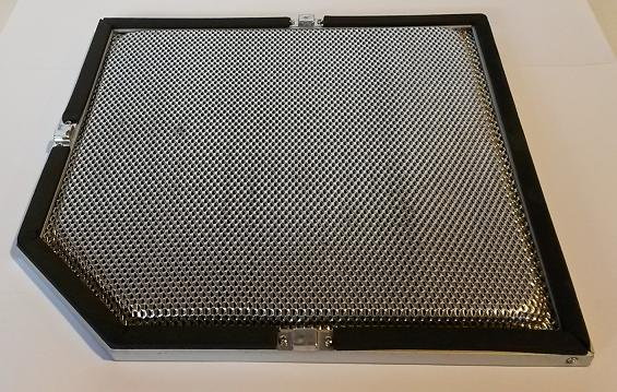 Alumiiniumfilter GRAVITY CF 120