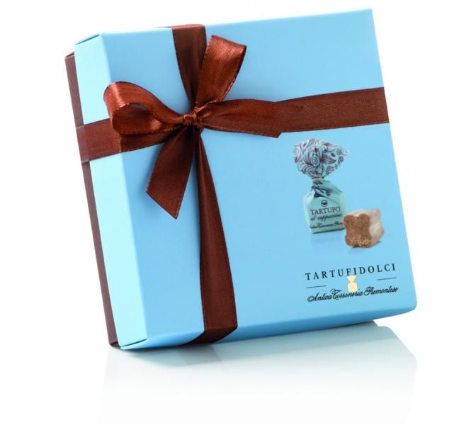 Šokolaaditrühvlite karp TARTUFI CAPPUCCINO..