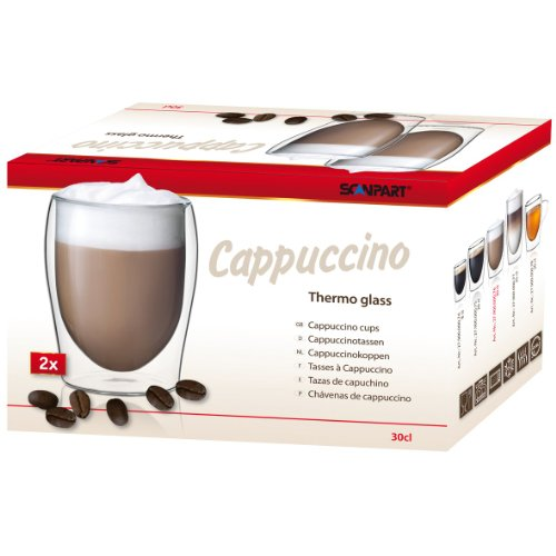 Scanpart CAPPUCCINO topeltklaasid 2 x 300 ml