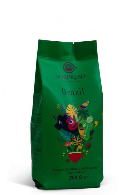 Kava SORPRESO BRAZIL YELLOW BOURBON (250 g)