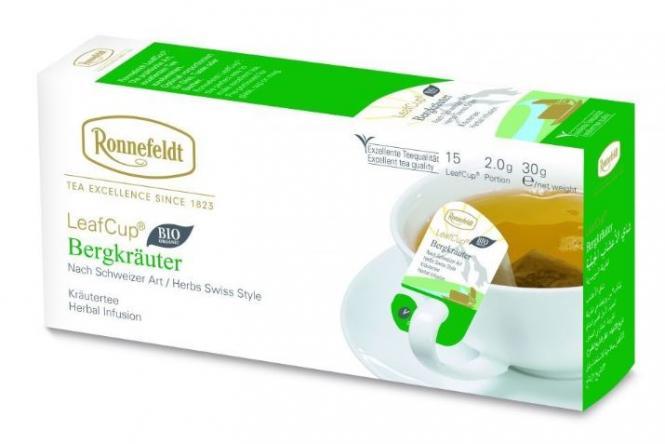 LeafCup® taimetee Bergkrauter 15 tk.