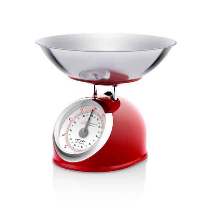 Köögikaalud ETA577790030 Retro, punane