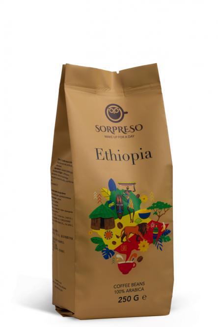 Kava ÜLLATUD ETIOOPIA SIDAMO (250 g)