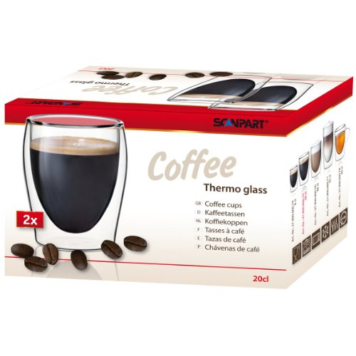 Topeltklaasid Scanpart COFFEE 2 x 175 ml