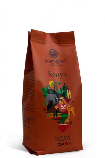Kava SORPRESO KENYA AA Plius (250 g)