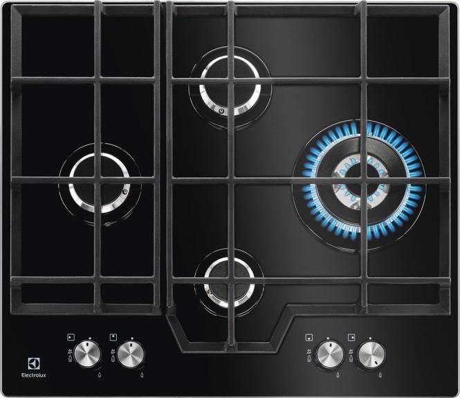 Paigaldatud gaasipliit Electrolux KGG6456K