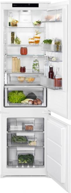 Sisseehitatud külmkapp sügavkülmikuga 188..