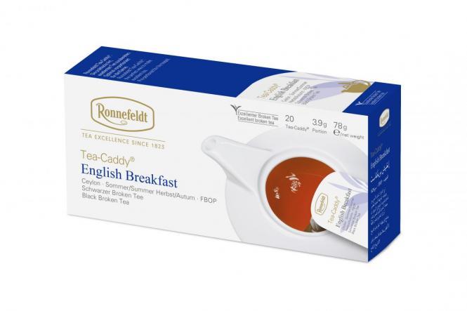 Tea Caddy® must tee Inglise hommikusöök