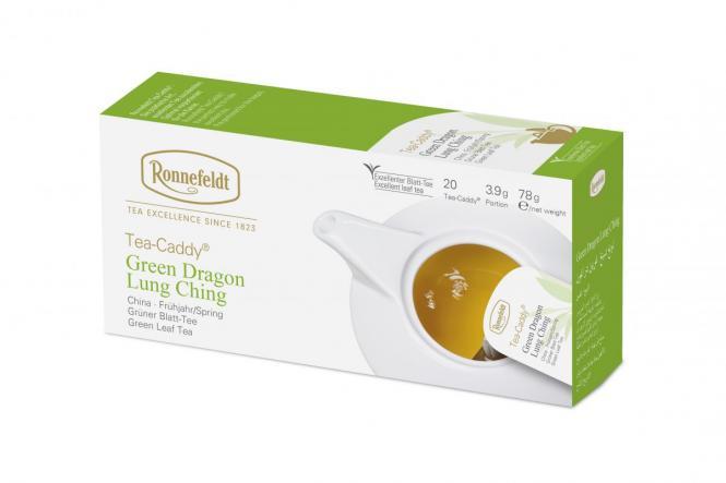 Tea Caddy® rohelise draakoni kopsu ching