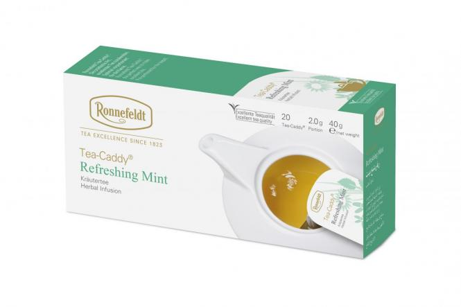 Tea Caddy® taimetee värskendav piparmünt