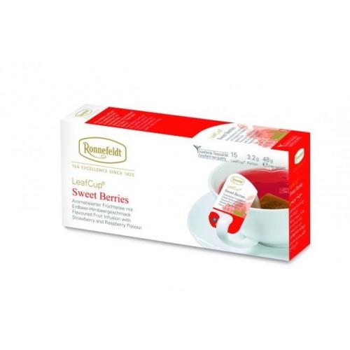 LeafCup® puuviljatee Magusad marjad 15 tk.