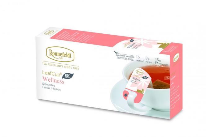 LeafCup® taimetee Wellness 15 tk.