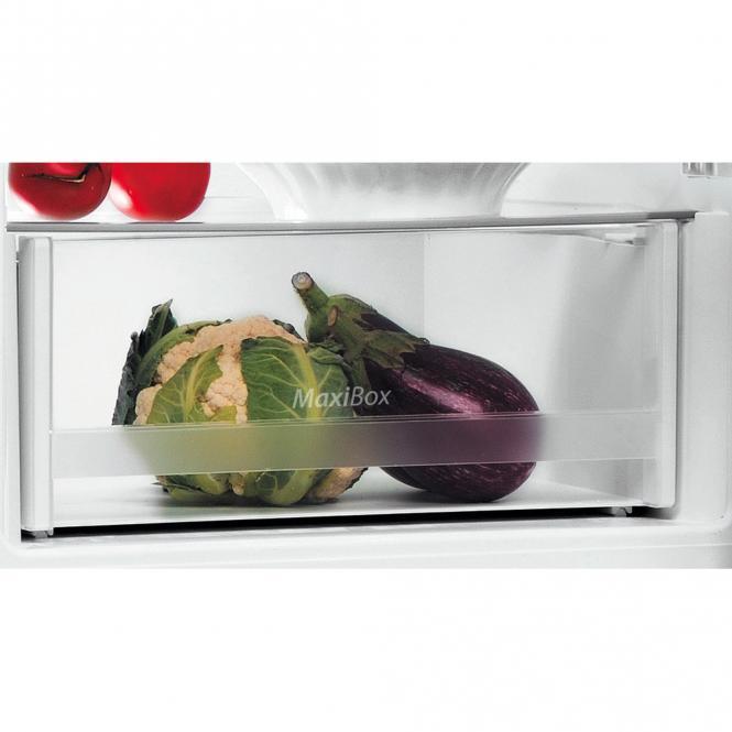 158,8 cm kõrgune külmkapi sügavkülm Indesit LI6 S1E X