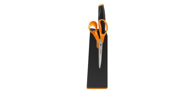 Nugastatiiv Fiskars Functional Form 1014190, 5 nuga / must
