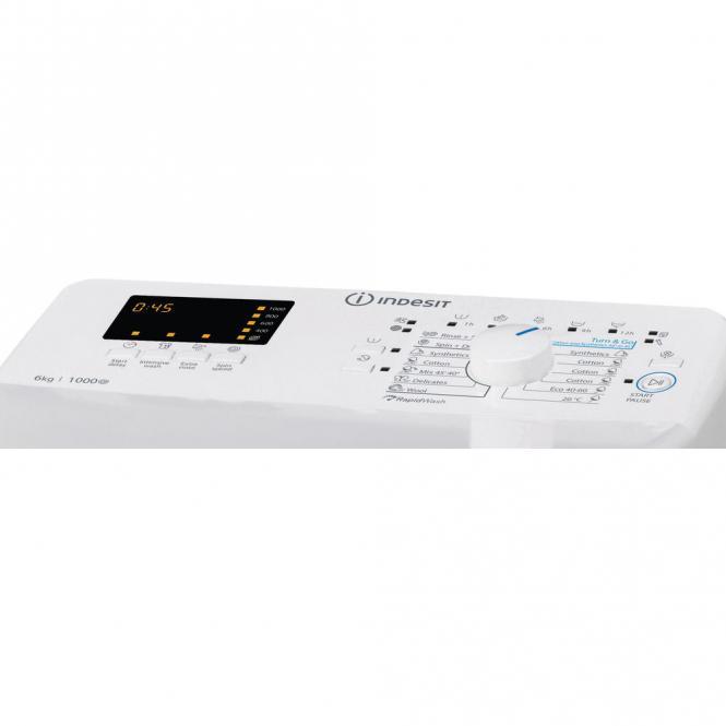 Pealtlaetav pesumasin Indesit BTW S60300 EU / N